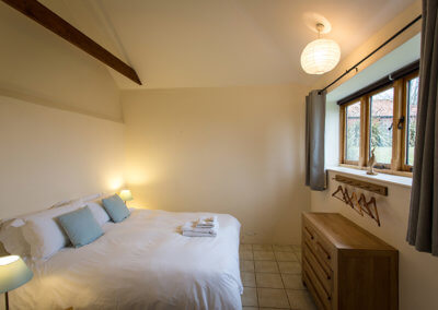 Dingle Hill Barns Cottages Dunwich Suffolk, bedroom 2 in our Avocet cottage